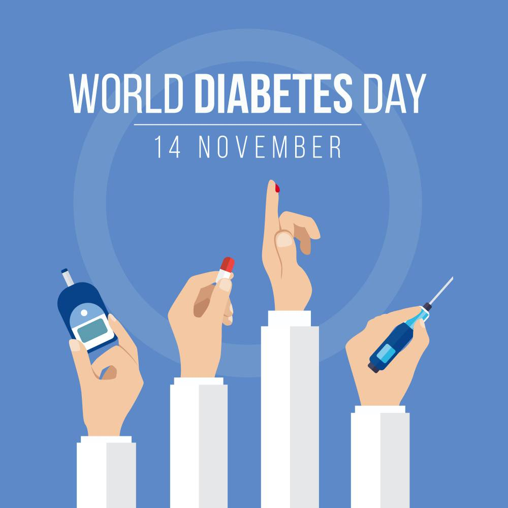 world diabetes day lets make this world diabetes free together